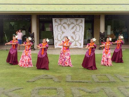 ALOHA E KOMO MAIぼうさいの丘公園! 秋空の下で Ke Aloha