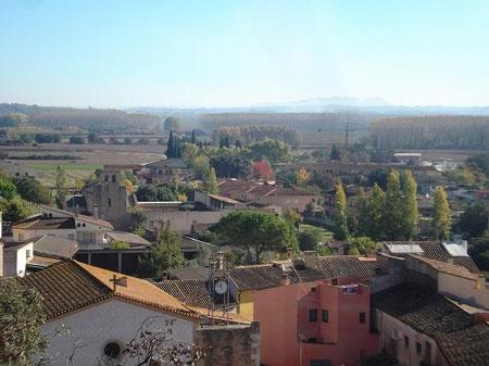 Blick auf Cervià de Ter