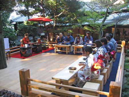 古川美術館為三郎記念館桧舞台