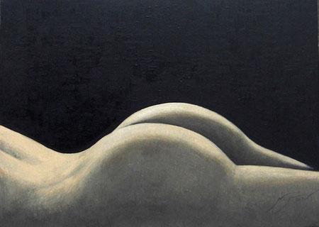 Desnudo de trasero y espalda - 70 x 50 cm
