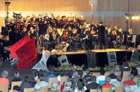 """Musical-Melodien """"Jetzt laden die Vampire zum Tanz"""" - mit den Nüdlinger Musikanten - 2014"""