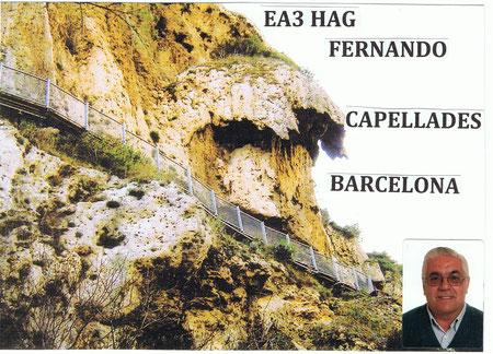 Esto es el Famoso Capello,aqui estan las cuevas que son del tiempo de los Neardentales...Antes por aqui  saltaba el agua que hoy esta en la balsa y va hacia las fabricas de papel.