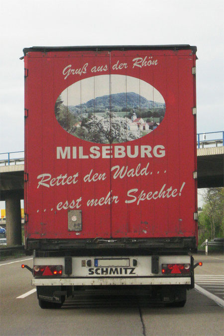 """""""Retten den Wald...esst mehr Spechte!"""""""