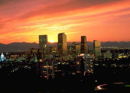 Die Skyline von Denver