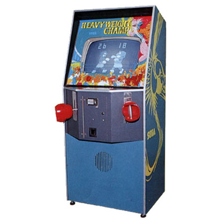 Heavyweight Champ, the very first 'VS Fighting game' by Sega in 1976.