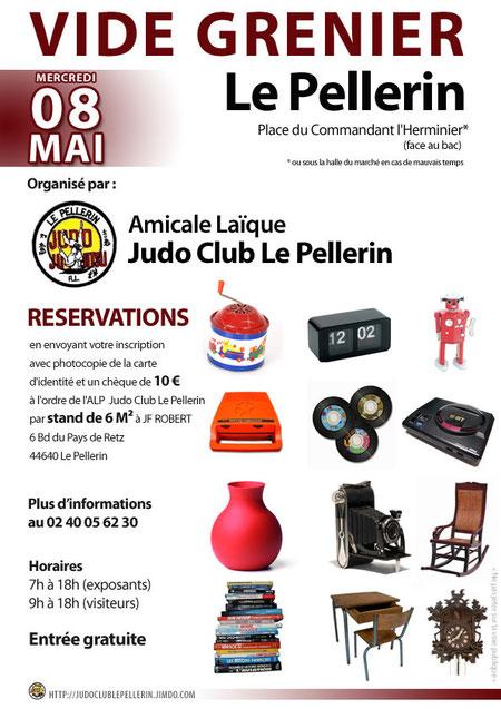 Vide-grenier Judo Club Le Pellerin