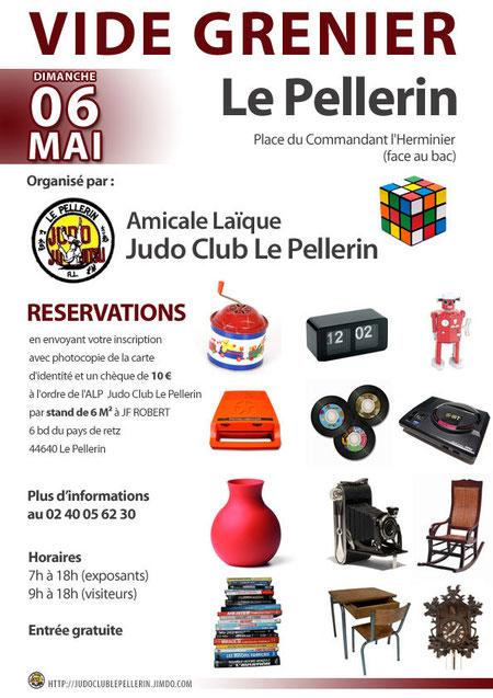 vide grenier le dimanche 06 mai 2012 al judo club le pellerin. Black Bedroom Furniture Sets. Home Design Ideas