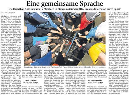 Artikel des Miesbacher Merkur am 13.12.2012 - Zum Vergrößern Klicken