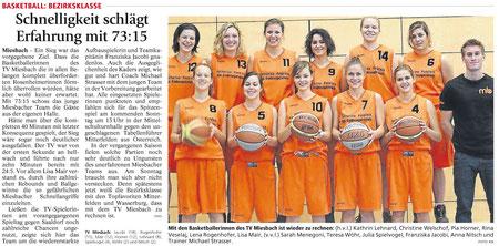Großer TV Miesbach Tag im Miesbacher Merkur am 15.11.2012 - Zum Vergrößern Klicken