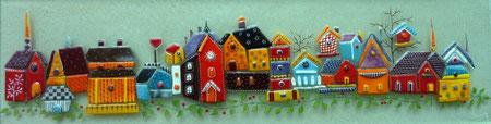 Petites cabanes d'oiseaux....