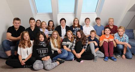 4.NMS mit KV Elfriede Meier
