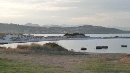 herrliche Landschaft am Capo Camino
