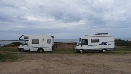 Free-Camping am Capo Camino