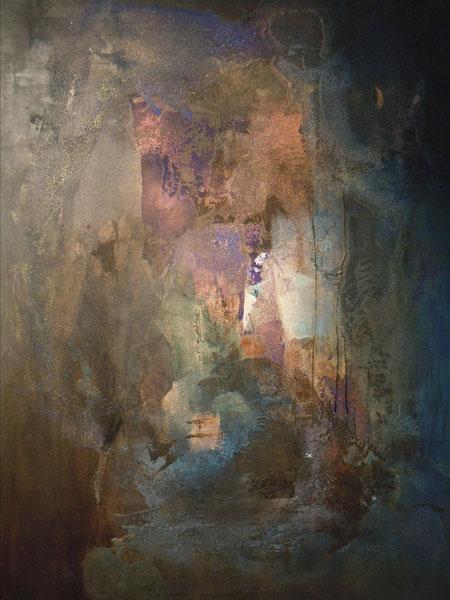 """""""Tchal-Kouirouk"""" Juna, technique mixte sur toile 114x146 cm """""""
