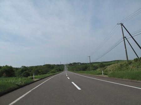 8:11 これぞ北海道の道