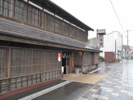 5月23日13:54 増毛 国稀酒造。日本最北の酒蔵