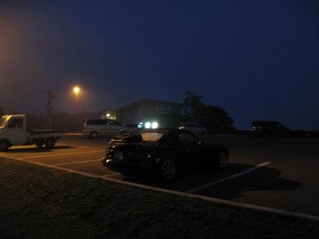 4:03 道の駅「あぷた」(虻田) 1時間ほど仮眠 向かいは海で景色が良い