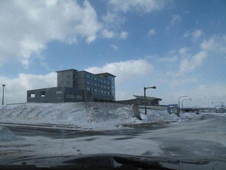 オホーツク温泉 ホテル日の出岬 お昼頃到着