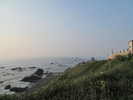 5:03 襟裳岬に到着