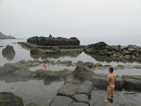 何人かの人と談笑をしながら入浴。非常に楽しい入浴だった。