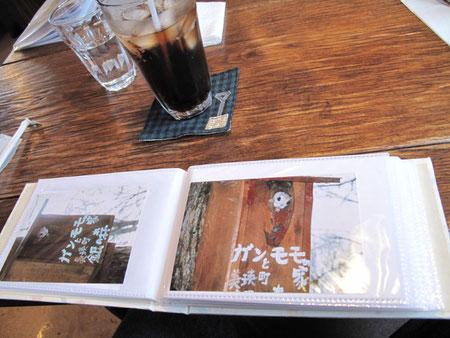 ご主人が撮影したモモンガ君の写真。カワイイ。