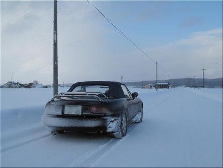 ではまた。。3ヶ月ぶりのドライブ。しかも雪道300キロ、楽しかった。
