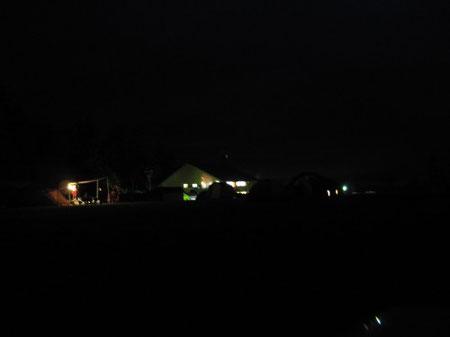 夜のキャンプ場 それぞれの静かな声だけが響く 20:07