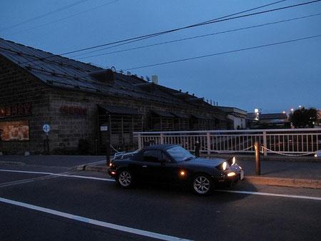 3:51 小樽運河にて