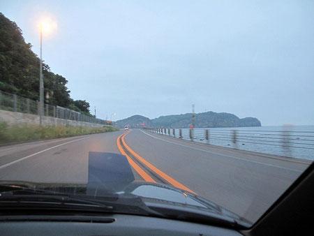 小樽の海。北海道一周を思い出すなあ