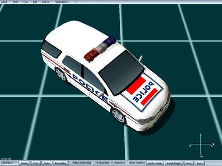 peugeot 306 familiar police de paris