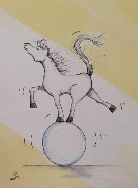 Ball-Akrobatik