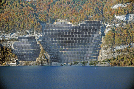 80'000m2 für 1400 Haushalte (Projekt am Walensee)