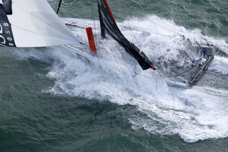 Hugo Boss mit Alex Thomson