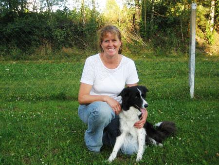 Angelika Kramer mit ihrer Aziza Foto A. Rosenlehner