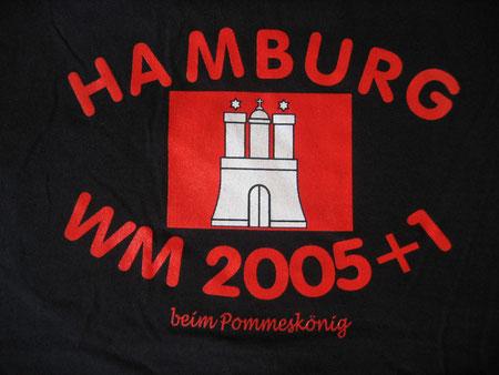 Fußball-WM 2006 in Hamburg - wir sind dabei