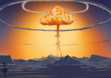 北嶼公国での核実験