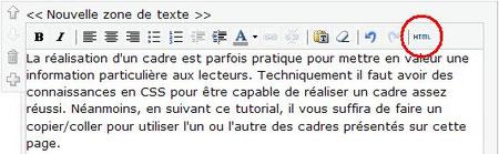 Cadre esthétique Bouton-html-sur-l-%C3%A9diteur-de-texte-jimdo