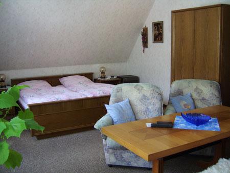 Foto Gästezimmer in der Entenmühle