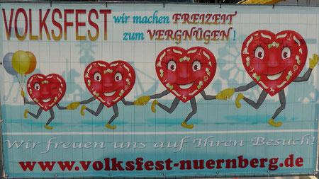 Herzlich willkommen zum Nürnberger Herbstvolksfest © Copyright by Olaf Timm