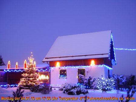 Mein Winterfoto vom 04.01.10 um 17 Uhr klar Temperatur -9°C
