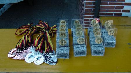 Gold - Silber - Bronze