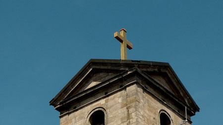 Die Wallfahrtskirche auf dem Gipfel des Armesberg (731 m ü. NN) © Copyright by Olaf Timm