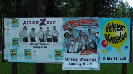 Klick auf das Foto und die Fotogalerie vom Gefreeser Wiesenfest 2011 öffnet sich