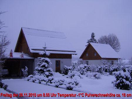 Hier das zweite Winterfoto vom Freitag den 26.11.2010