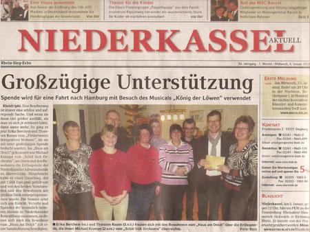 Extra-Blatt 4.1.2012