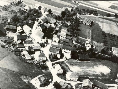 Enzenkirchen im Jahre 1958