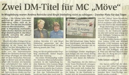 Artikel aus den Cuxhavener Nachrichten vom 20.08.2009