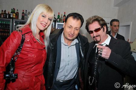 Kéty Lucy, Ted Sanders et Johnny Cadillac (Février 2013)