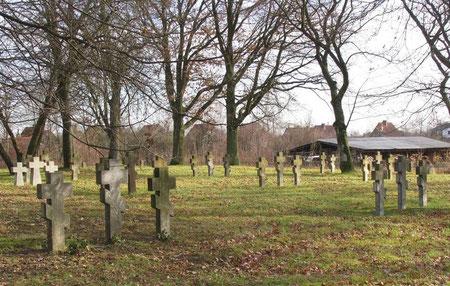 Немецко - русское кладбище 1 и 2 мировой войны. Русские.
