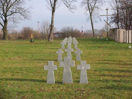 Немецко - русское кладбище 1 и 2 мировой войны. Немцы.